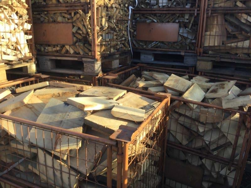 Oak firewood rough - Sawmill - HOLZ-BARAN GmbH