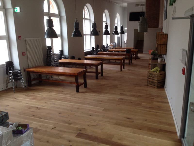 Massivholzdielen - Massive Dielenboden aus Holz - HOLZ-BARAN GmbH