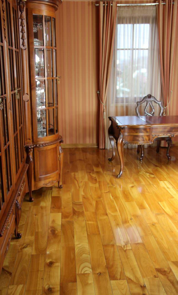 Luxus Holzfußböden