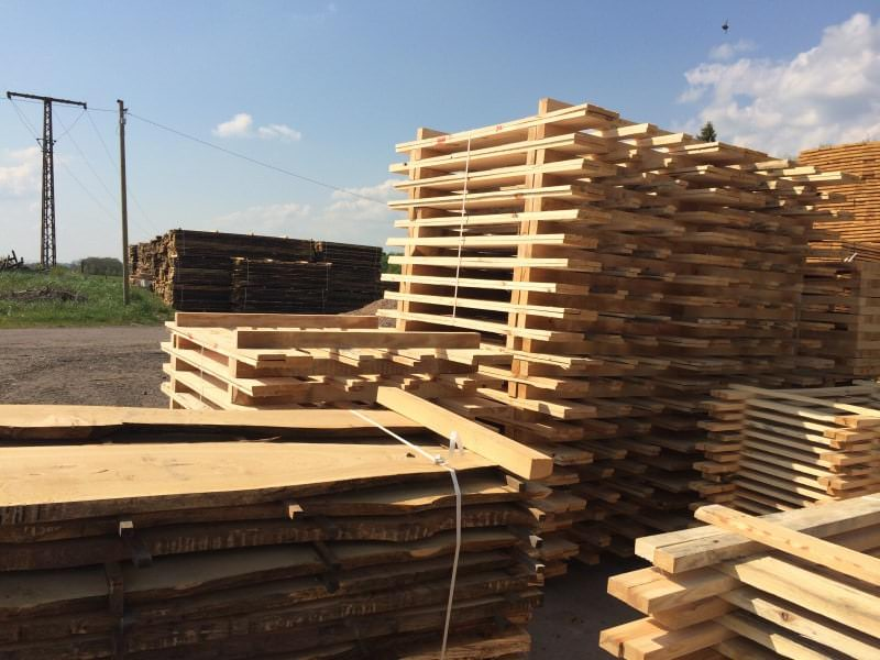 Wood pallets - Sawmill - HOLZ-BARAN GmbH