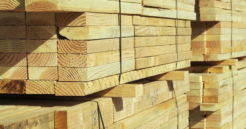 Bauholzprodukte in bester Qualität